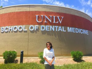 Dr Sonia at UNLV to learn high level dentistry- Dentist Kallangur- Dentist North Lakes-Highly qualified and experienced dentist near me