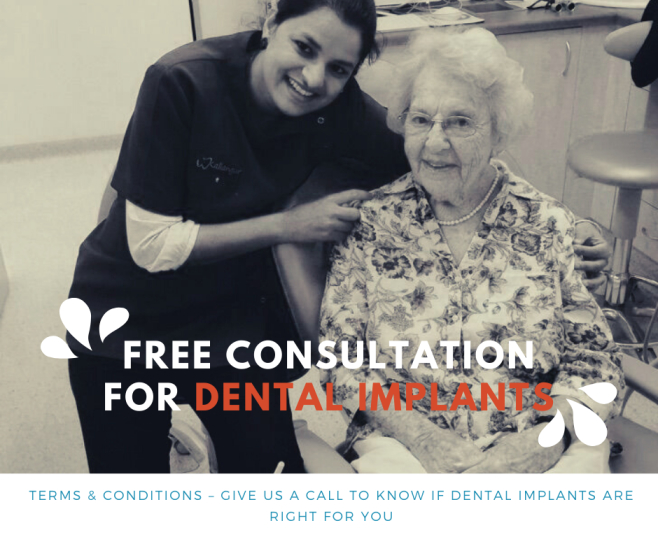Free Dental Implant Consultation- Dental Implant Patient with Dentist