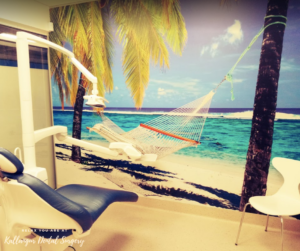 very relaxing and comfortable dental surgery